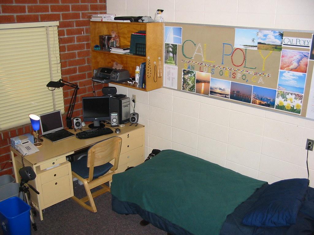 Freshman Dorm Room Part 14