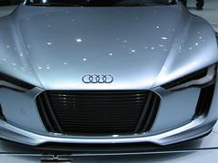wheel(0.0), audi sportback concept(0.0), automobile(1.0), automotive exterior(1.0), audi(1.0), vehicle(1.0), automotive design(1.0), grille(1.0), audi rsq(1.0), audi e-tron(1.0), bumper(1.0), concept car(1.0), land vehicle(1.0),