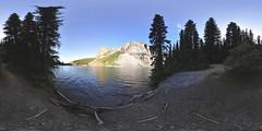 waters edge, moraine lake