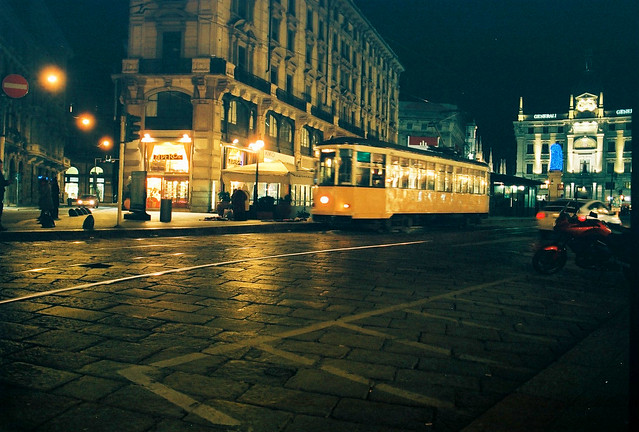 Close to the Duomo - old Tramways