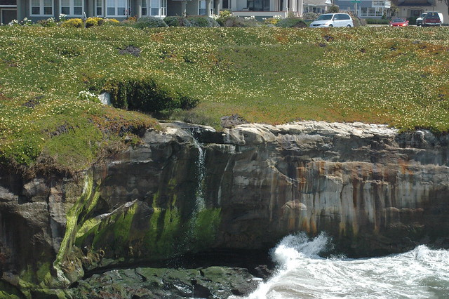 波が創り出した、硬い岩の浸食に目を向けてみませんか