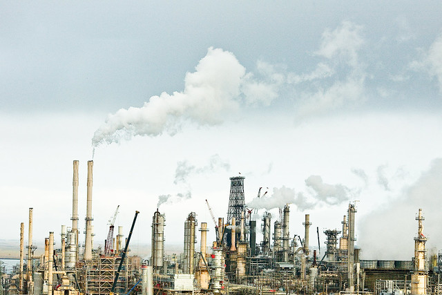 photo of refinery
