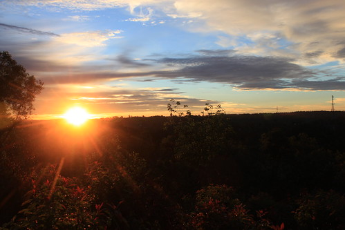 morning sunrise tanjungenim