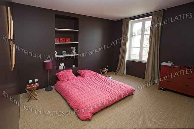 Chambre coucher contemporaine france flickr photo - Rideau chambre a coucher ...