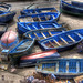 Essaouira, Blue Fishing Boats by tonybill