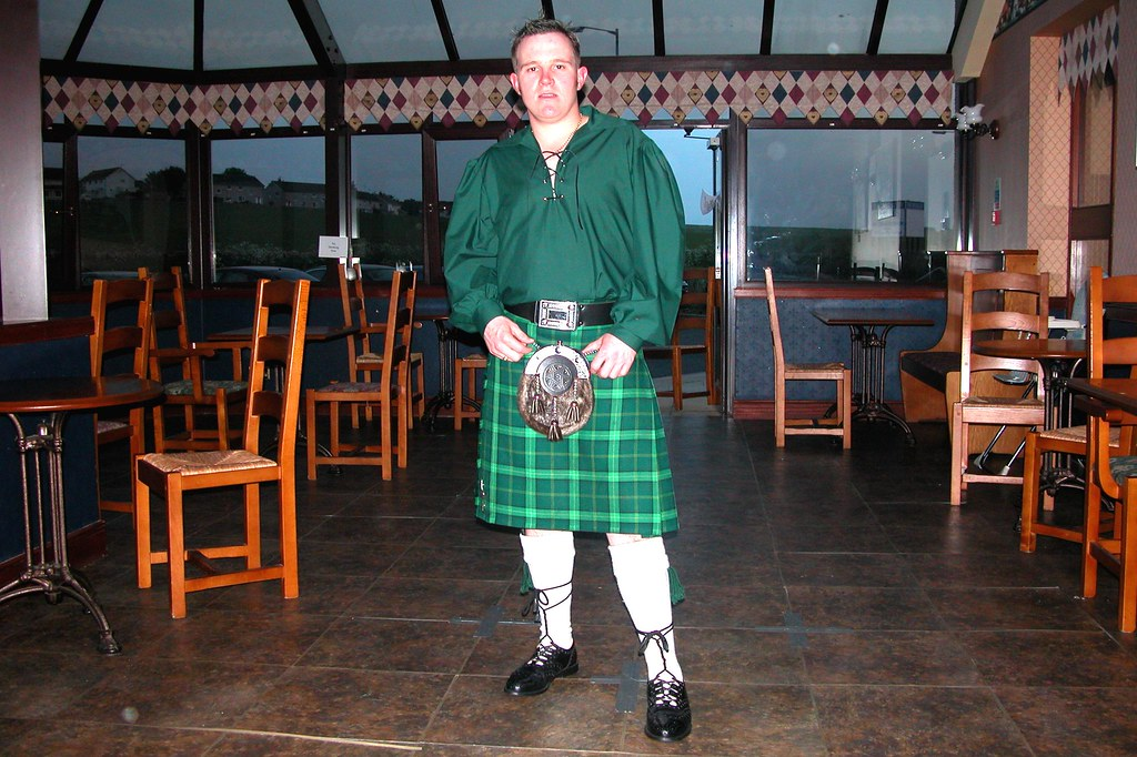 Scottish kilt