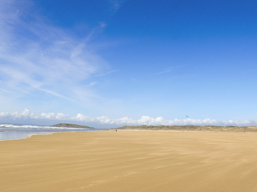 A beach on the Gower - S. Wales
