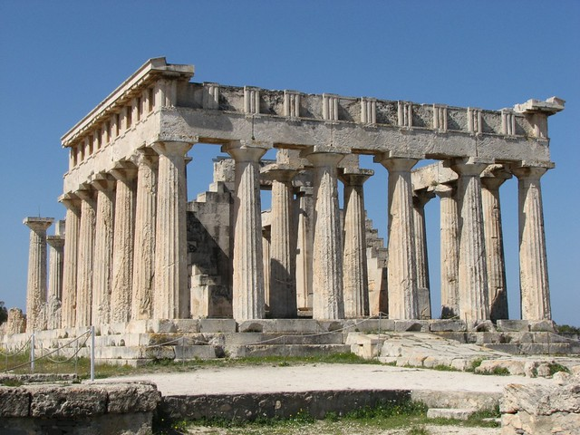 Temple of Aphaia - Aegina  Flickr - Photo Sharing!