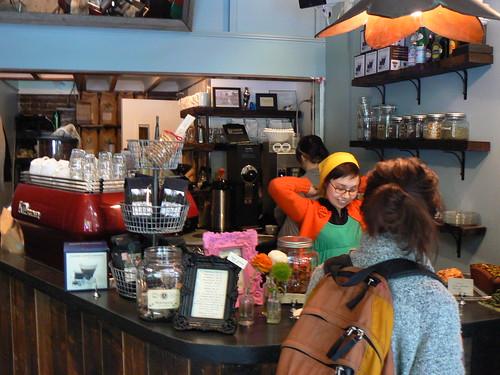 Bluebird Coffee Shop, E 1st St