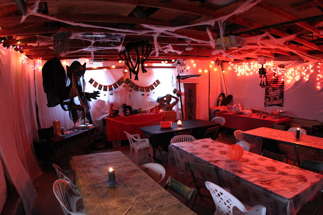Garage halloween decoration | Flickr - Photo Sharing! on Garage Decoration  id=34631