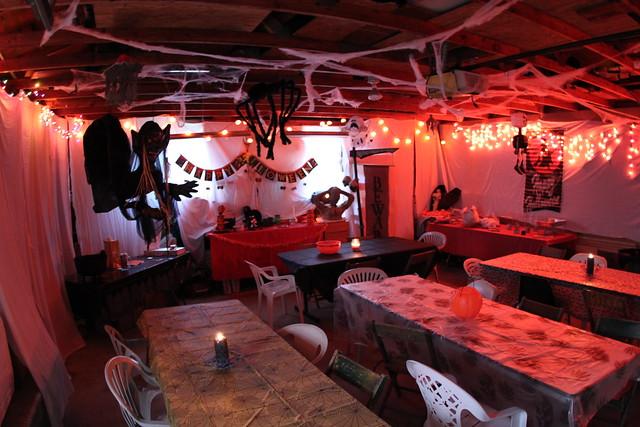 Garage halloween decoration  Flickr  Photo Sharing! ~ 092656_Halloween Garage Party Decorating Ideas