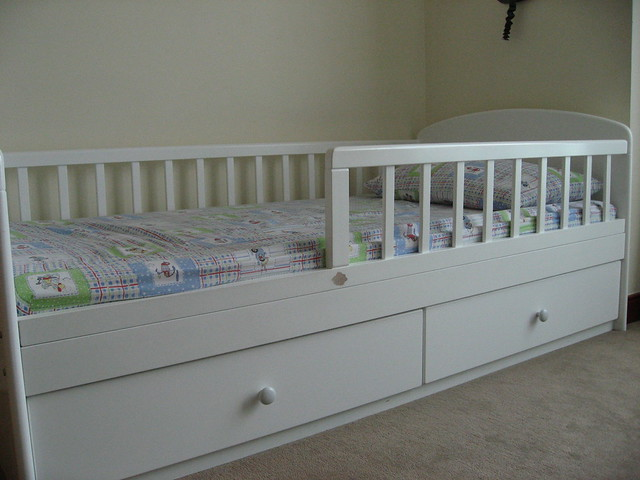 Kitso Toddler Bed With Drawers Sold Flickr Photo