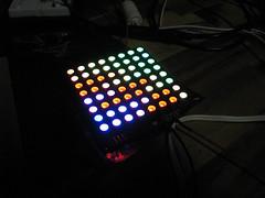 RGB matrix & rainbowdruino