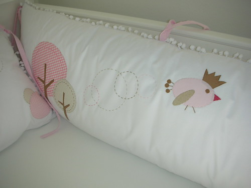 Luiza's room - bedding nursery