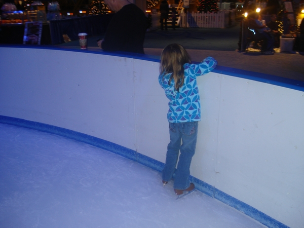 Navy Pier Winter Wonderfest - indoor ice skating