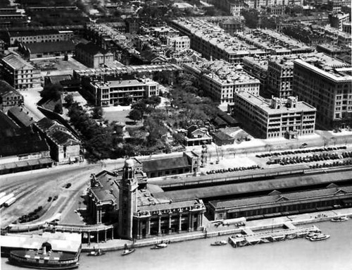 1930s Marine Police Headquarters, KCR YMCA, TST pier, TST post office and market complex, Hong Kong