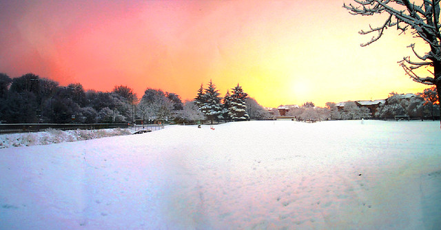 Snow and Sunrise