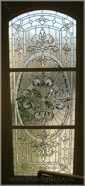 Regal victorian beveled glass window flickr photo for Victorian stained glass window film