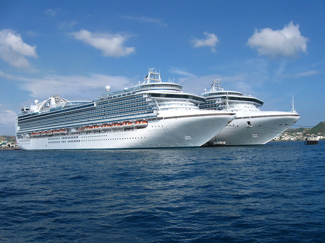 Twin Cruise Ships At Port Zante St Kitts  Flickr