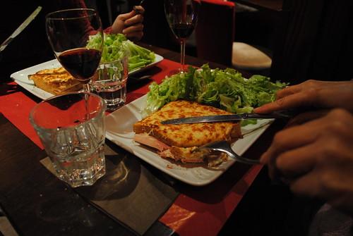 Comida tipica francesa: Croque-Monsieur