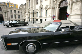 Peruvian presidential limousines 2