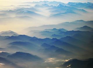 Clouds, Mist and Smoke over Alaska