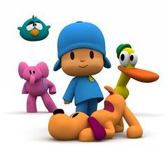 Los personajes de Pocoyo