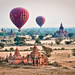 Balloons over Bagan by samthe8th