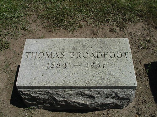 Thomas BROADFOOT by midgefrazel