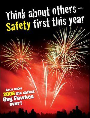 Epic Fireworks - Safety Poster