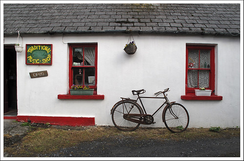 Music Shop in Doolin, Ireland
