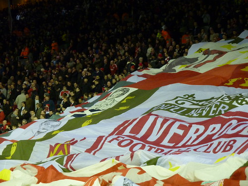 Flag Time, Anfield