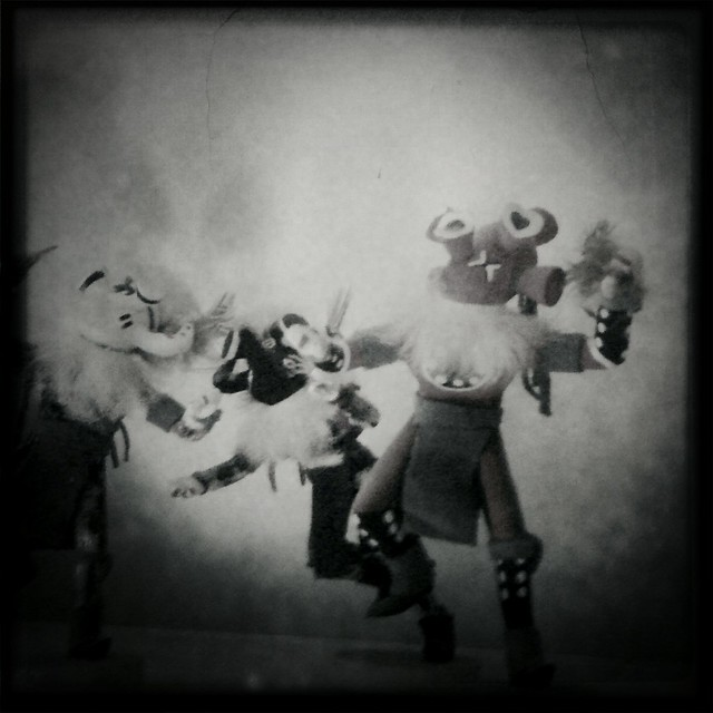 Tourist Kachinas 2 (Hipstamatic iPhone Capture)