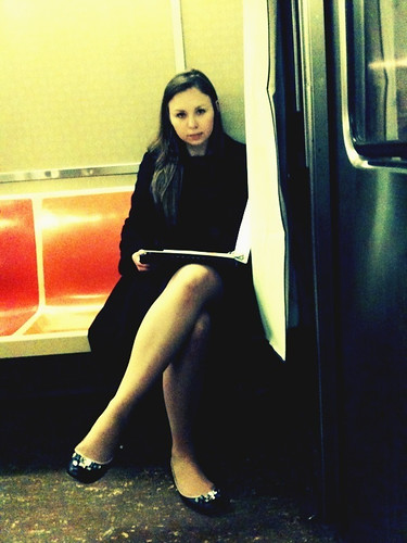 Pretty Girl on the G Train