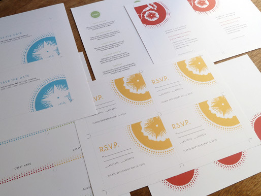 Printable Wedding Invitation Kit Templates Morning Glory