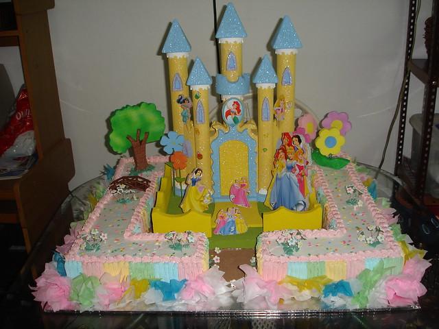 Bizcocho de cumpleanos infantil the princess flickr - Bizcochos cumpleanos infantiles ...