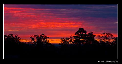 red clouds sunrise georgia forsyth lakelanier lakesidneylanier cummingga