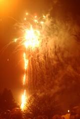 Fireworks Hebden 2009