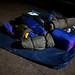 07.12., Umzug der Luftmatratzen und Schlafsäcke