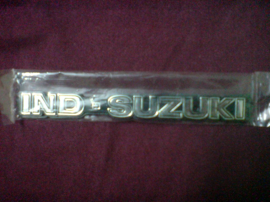 Ind-Suzuki Tank Monogram - a photo on Flickriver