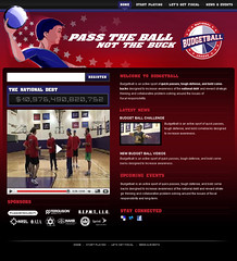 Budget Ball Website (Website)