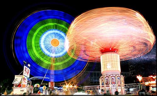 spinning rides!