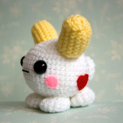 Amigurumi Cute Rabbit : Amigurumi White Kawaii Bunny Flickr - Photo Sharing!