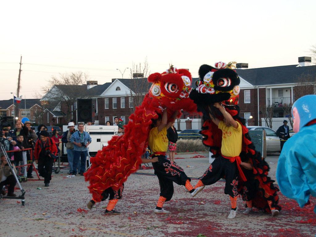 Houston Texas International Celebration for Chinese Lunar