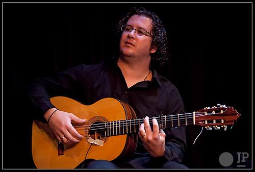 El guitarrista Isaac Muñoz. Foto: Juan Pelegrín