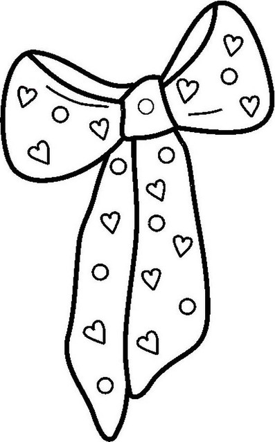 Bow Coloring Page Flickr Photo Sharing Bow Coloring Page