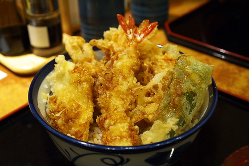 IMG_1520 東京 秋葉原 天丼餐廳 櫻天丼 720円.jpg