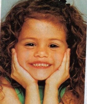 Young Selena Gomez on Young Selena Gomez