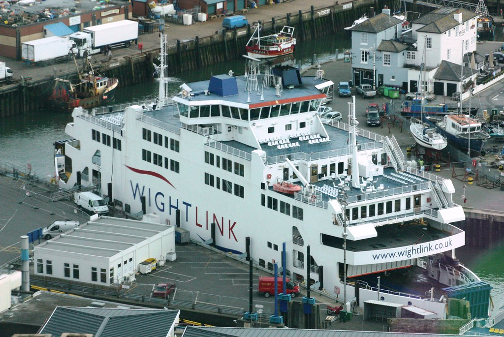 Wightlink St Clare