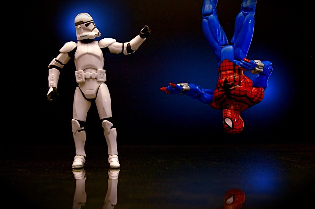 Clone Trooper vs. Spider-Man Clone (93/365)